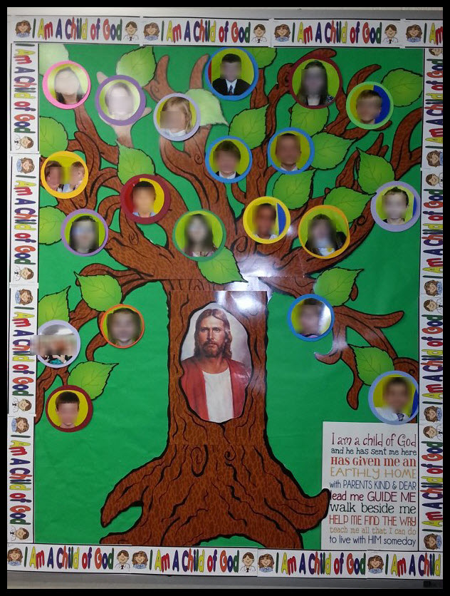 CLICK HERE to see larger picture of bulletin board.
