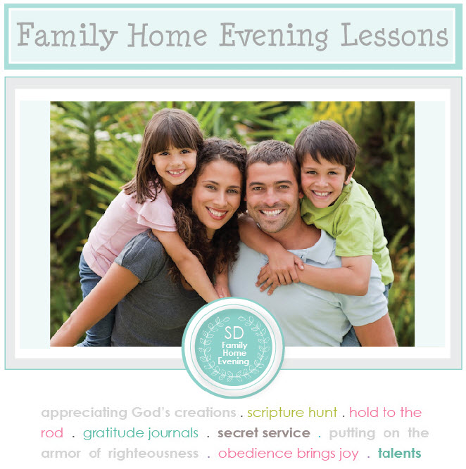 family home evening index