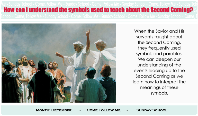 How Can I Understand The Symbols Used To Teach About The Second Coming