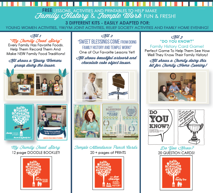 three fun family history activities and printables