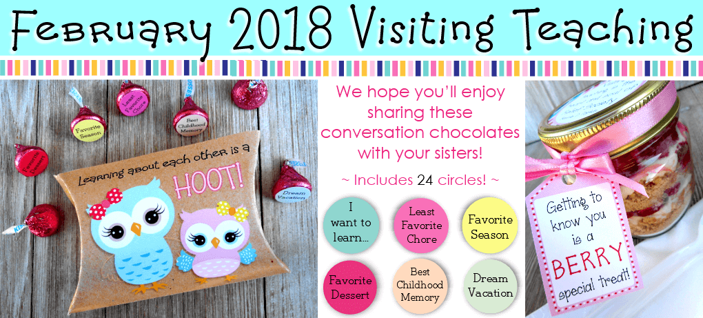 Visiting teaching messages these bright printables are filled with a large variety of creative inspiring materials to help you reach out to the sisters you visit and get to know each negle Choice Image