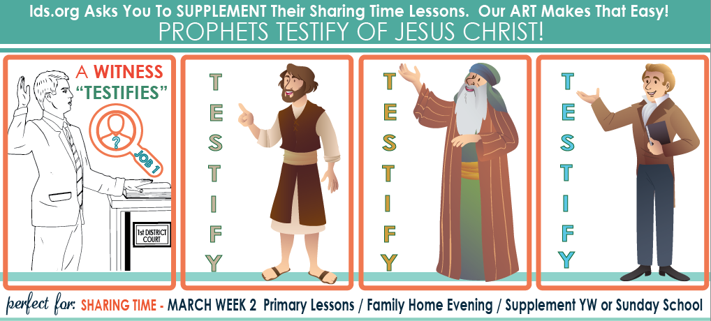 March Week 2 Sharing Time