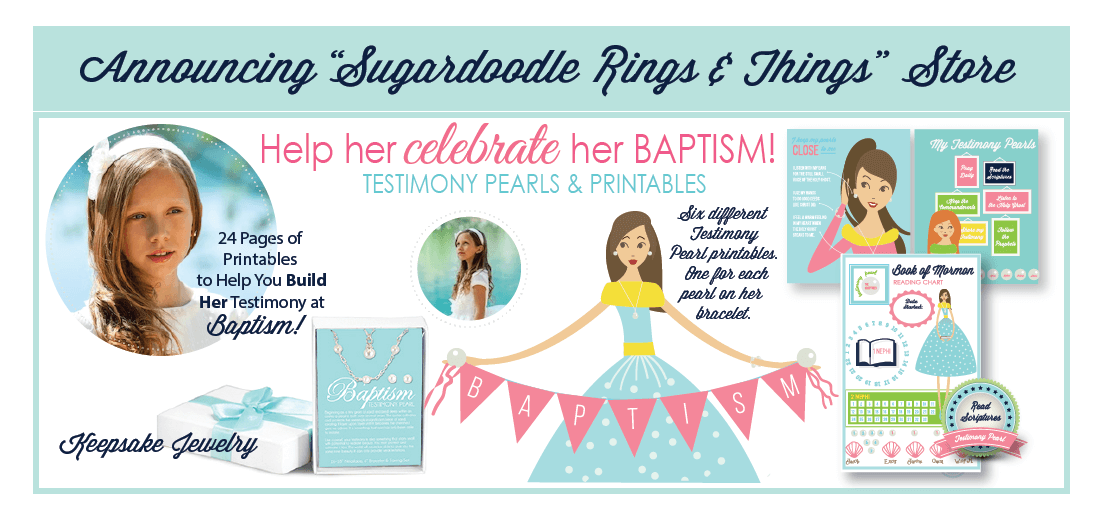 Sugardoodle Shop - Baptism Kit