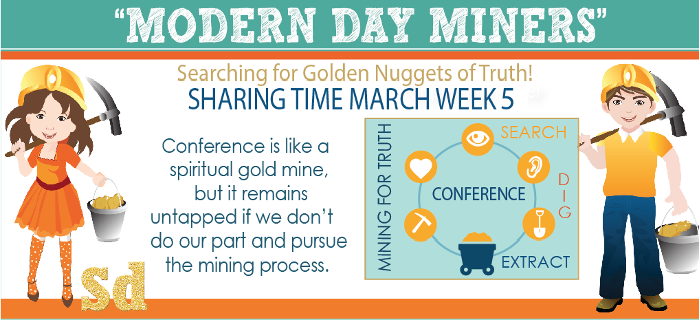 General Conference Sharing Time