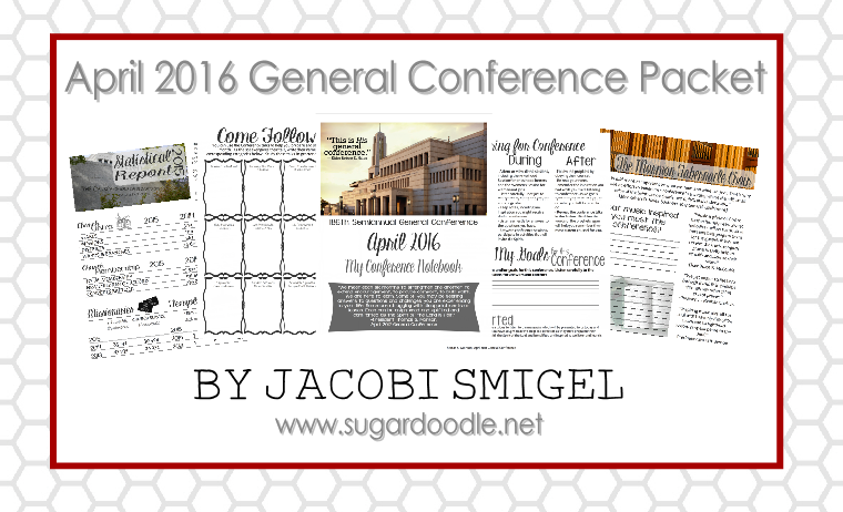 April 2016 General Conference Packet
